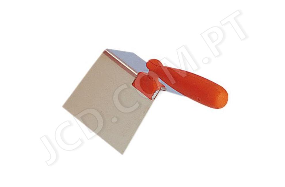 Colher de angulo exterior, 87º, Ferramentas Mob Mondelin, Colheres de angulo, colher de canto, Inox, ferramentas, Colher de Angulo, Pedreiro, Colheres, construção, Inox, bons preços