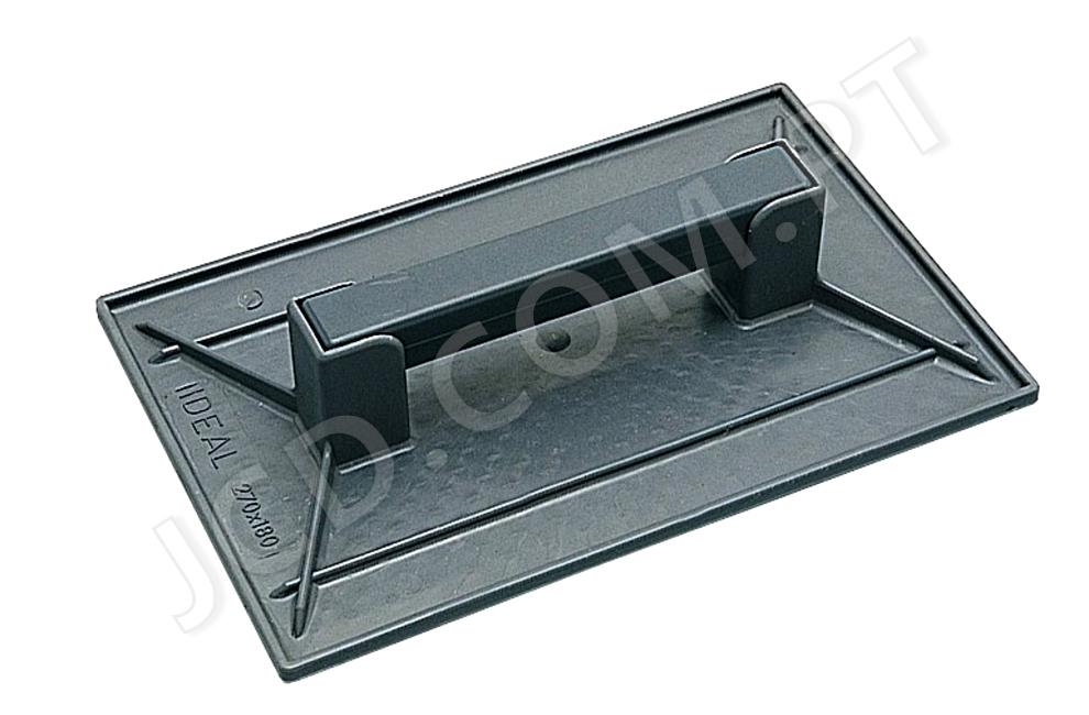 Talocha de plástico, Talocha de pedreiro, Cimento, Massa, Para afagar reboco, Talochar, Ferramentas, Construção, Kaufmann