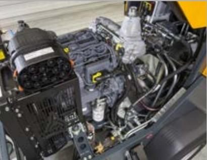 Motor, Putzmeister P720, Bombas de betão, Maquina Betonilha, P720, Portugal