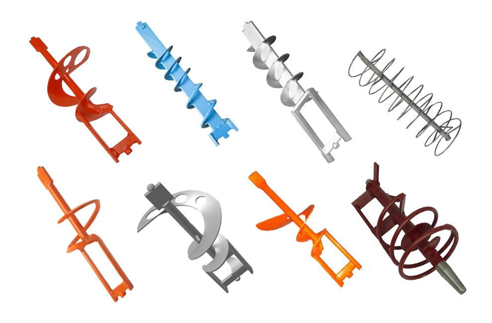 ferros misturadores, maquinas de projetar, peças, acessorios, misturadores de argamassas, mixer, maquina de reboco, gessos, colas, Portugal, distribuidor