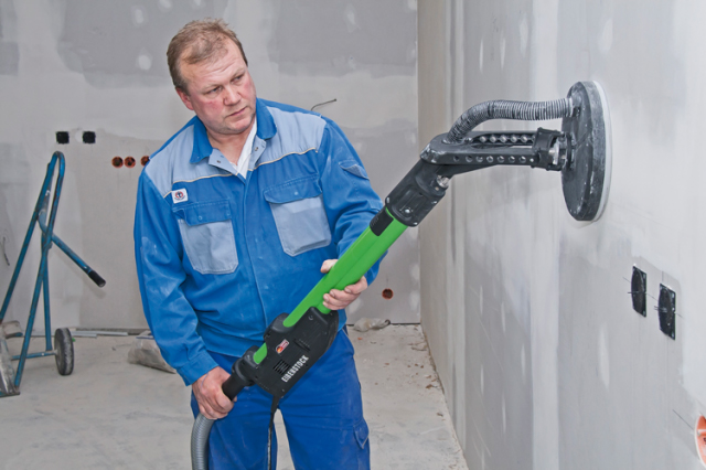 Lixadeira de tetos Eibenstock ELS 225.1, Lixadora Girafa, Ferramentas Profissionais, Qualidade, Tecnologia Alemã, Ferramentas eletricas, Lixadeira de braço