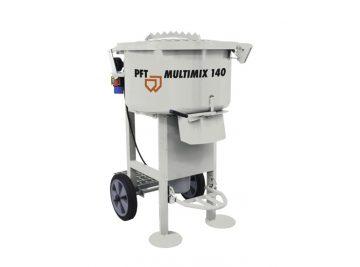 Multimix 140, Misturador, PFT, JCD, PFT Portugal, Misturadores Continuos, Gesso, PFT Multimix, Preços, Maquinas, Misturador de Betonilhas, Cimento, Reboco