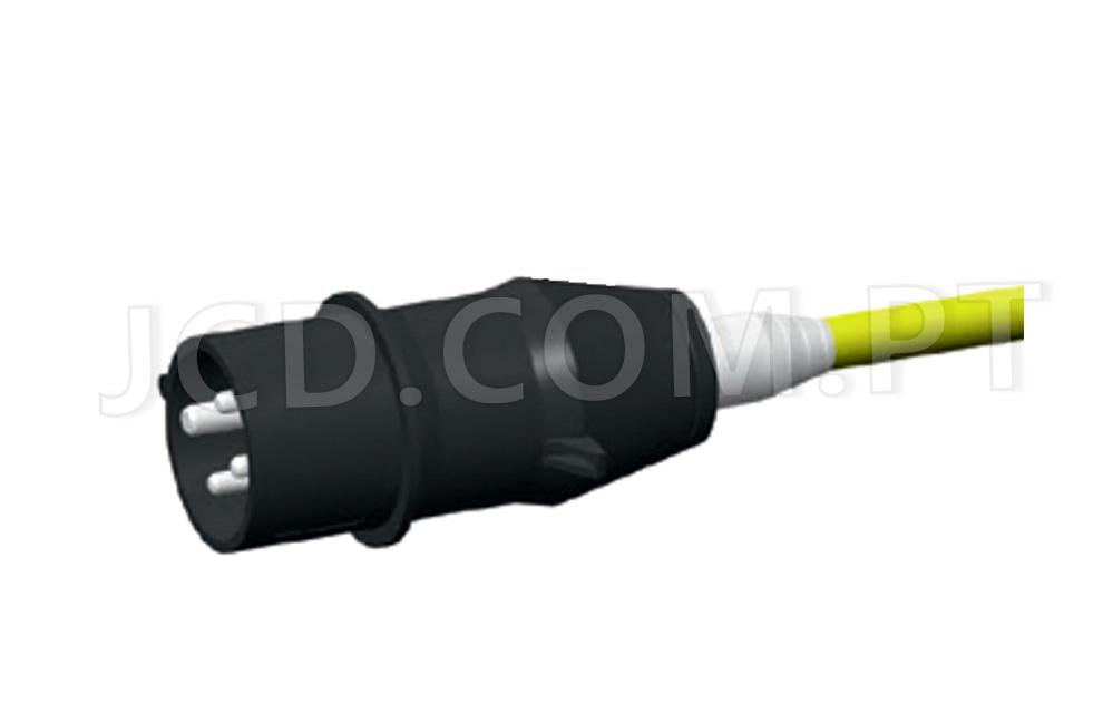 cabo para bomba de aumento de pressão, Fichas, cabos, Material Elétrico, Maquinas de Projetar, cabos Elétricos