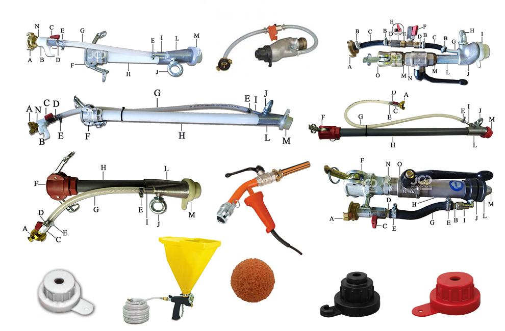 Lanças, Pistola, máquinas projetar, Bicos, Peças, Acessórios, Gesso, bola