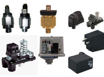 Pressostatos, Pressostato de pressão, Peças, Acessórios, Maquinas Projetar, PFT, Pressostatos Aguas, Ar, Pressostato, compressor, Peças novas, pressão