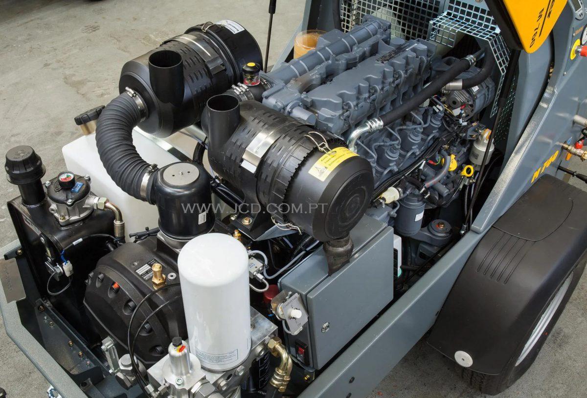 M 760 DH, Mixokret M760, Putzmeister, Máquinas, M760, Transportadoras, Via Seca