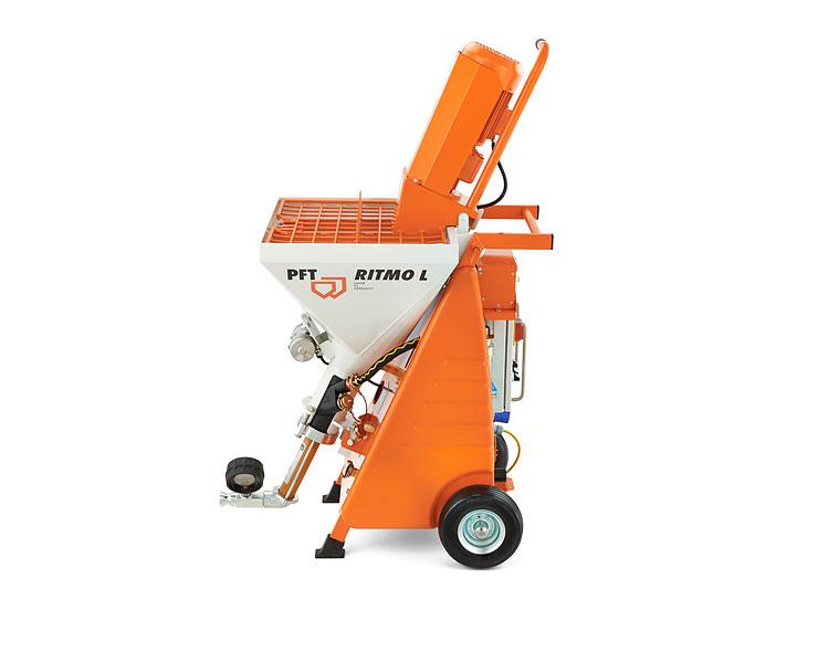 Ritmo L Plus, Maquinas de Projetar PFT, Portugal, Máquinas de projectar, Ritmo L, Ritmo, Maquinas PFT, Reboco, Gesso, PFT Ritmo L, autonivelantes