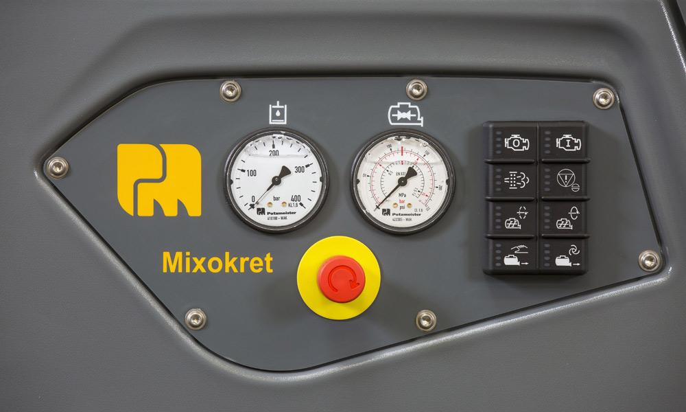 M 740 Stage V, Putzmeister M740, Mixokret M740, Putzmeister, Máquinas, M760, Transportadoras, Via Seca