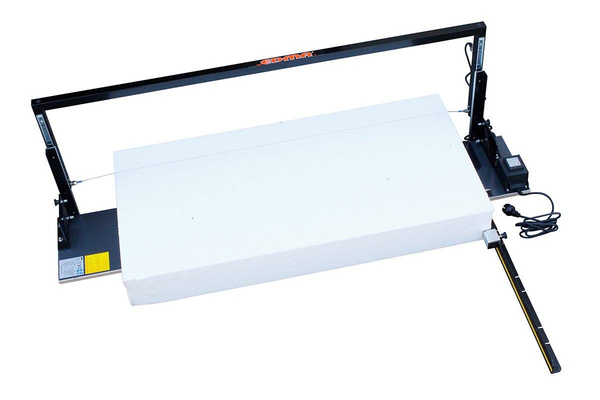 Máquinas de Corte de esferovite, Corte de placas de esferovite, Capoto, Máquinas de Corte de esferovite com fio quente, Corte de EPS, Placas XPS Horizontal