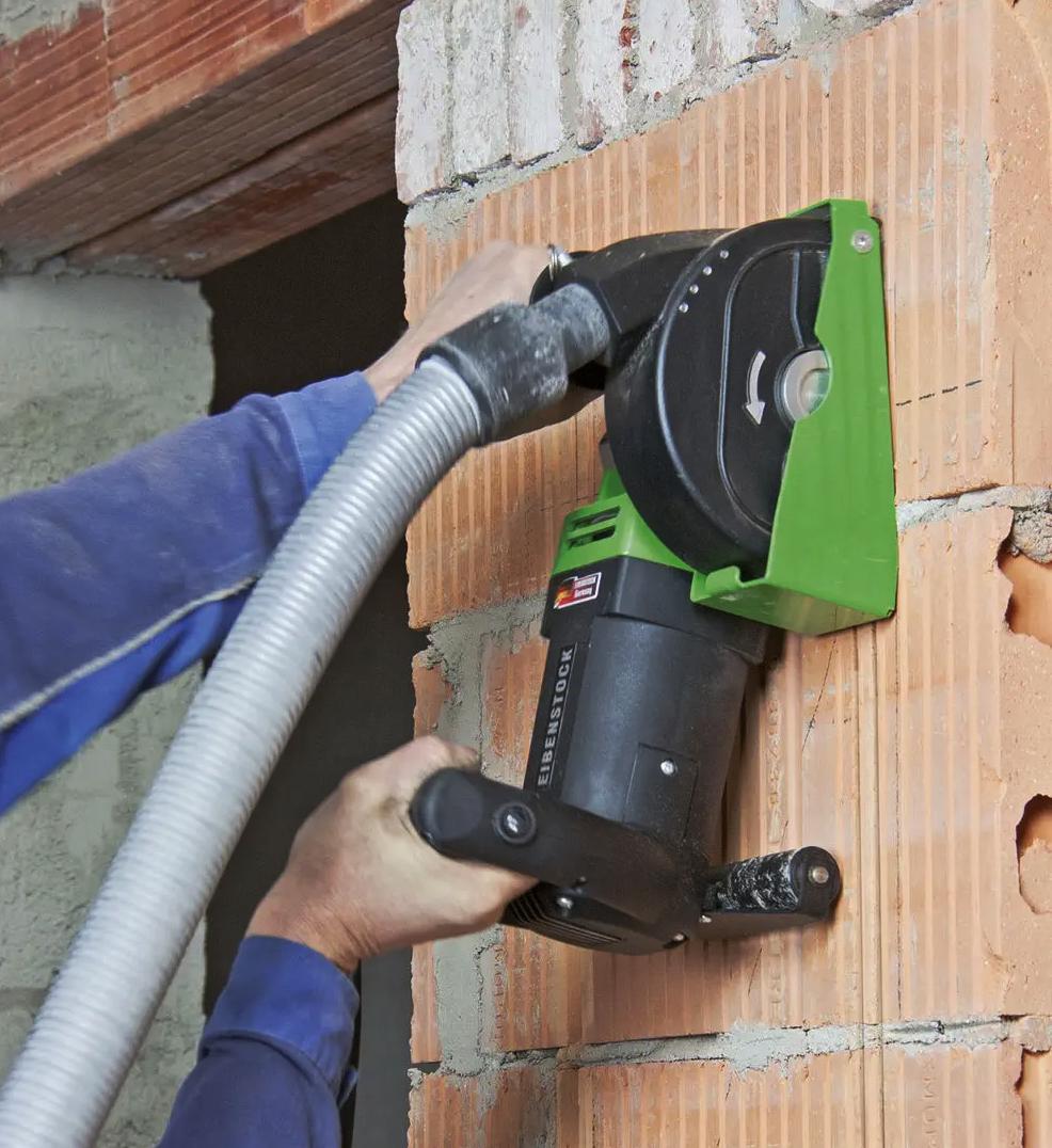 Tijolos, EMF 150.1, Fresadora de Roços, Máquina, Abre-Roços, Eibenstock EMF 150.1, Ferramentas elétricas