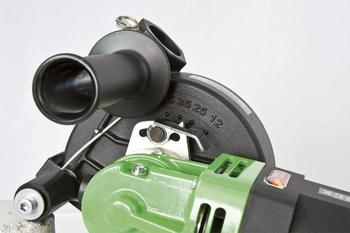 Cabeça da Máquina, EMF 150.1, Fresadora de Roços, Máquina, Abre-Roços, Eibenstock EMF 150.1, Ferramentas elétricas