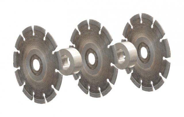 discos, EMF 150.1, Fresadora de Roços, Máquina, Abre-Roços, Eibenstock EMF 150.1, Ferramentas elétricas