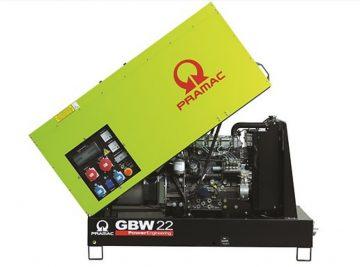 Gerador Diesel, Insonorizado, GBW22P, 22 KVA, Geradores, Diesel, Novo, bons preços, Geradores Trifásicos, Venda, Portugal, Construção, Máquinas, Bons preços