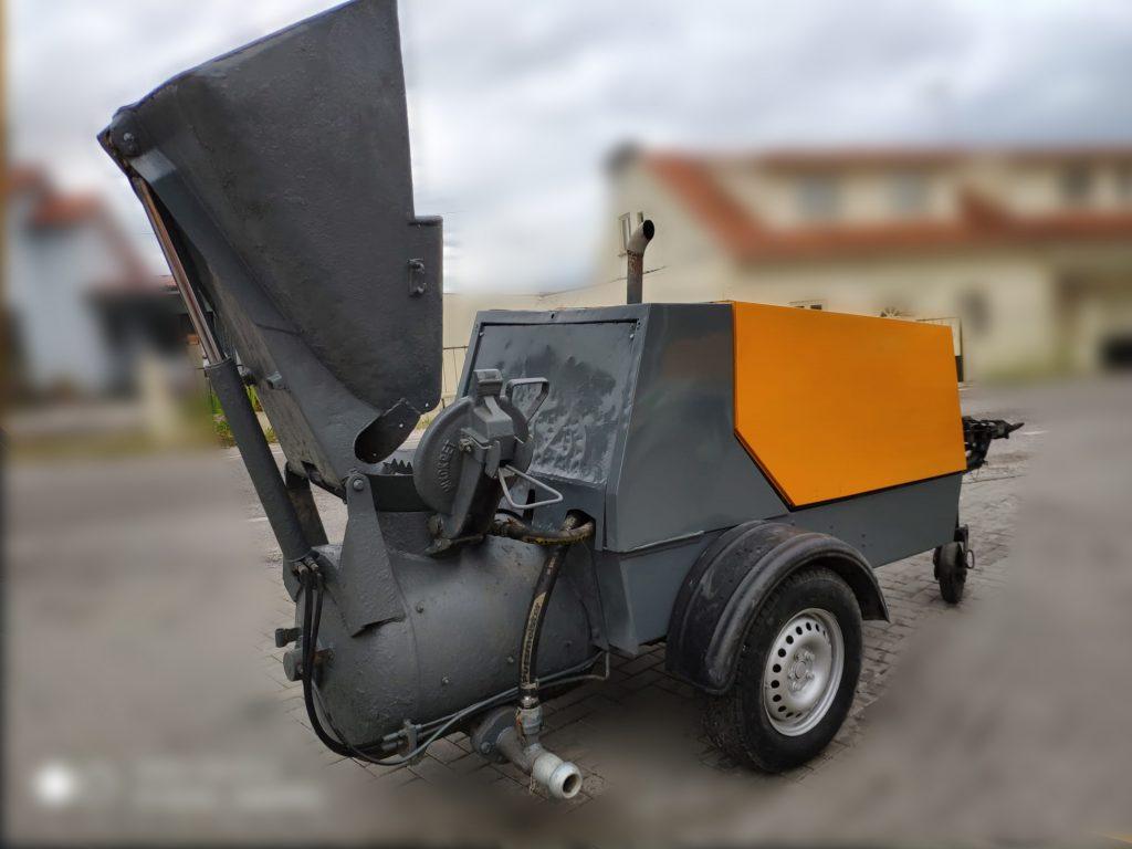 Putzmeister M740 DB usada, Máquinas usadas, Preços, Ocasião, Máquinas Betonilha, Usadas, Bombas de betonilha, construção, bons preços, Máquinas Putzmeister