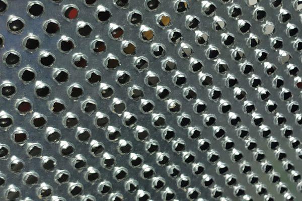 Talocha de lixar perfurada, Talocha com chapa perfurada e pega em plástico e borracha. Para Poliestireno, Esferovite, capoto