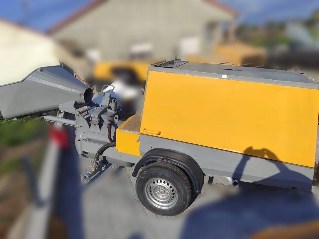 Putzmeister M 3242 DB Usada, Máquinas Betonilha Usadas, Bom estado, Maquinas construção, Bombas Betonilha, Máquina de Betonilha, Usada, Máquina, bom preço