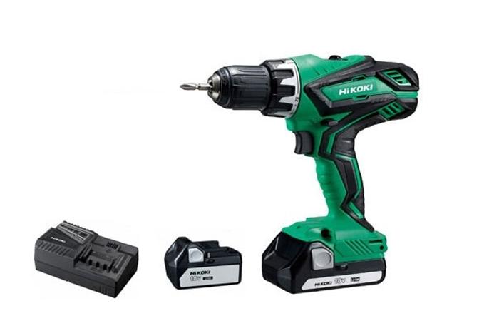 Aparafusadora sem fio, KIT, Hikoki DV18DGALZ, com baterias, Berbequim, Bom Preço, Ferramentas, bons preços, baratas, Aparafusadoras, Hikoki DV18, bateria, Preço