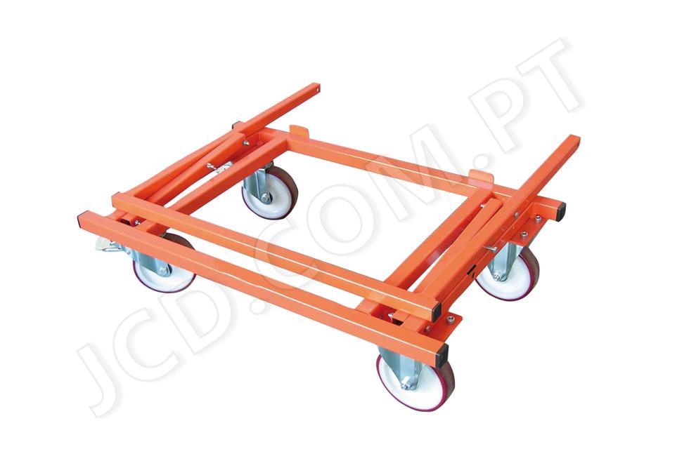 Transportadores de placas, Gesso cartonado, Transporte de placas de gesso, Com rodas, 4 rodas, transportadoras, Mondelin