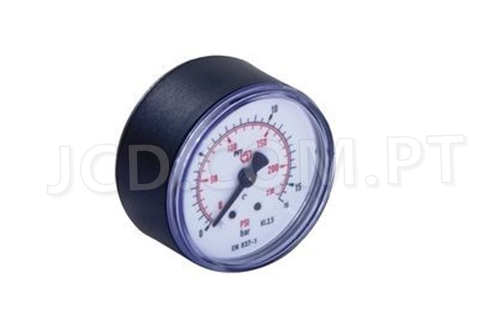 Manómetros, Manómetro Rosca traseira, Maquinas de Projetar, PFT, Acessórios, Manómetros de pressão, Manómetros de Agua