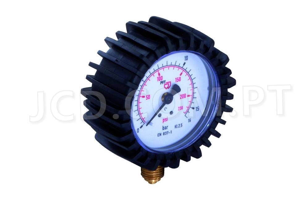 Manómetros, Manómetro Principal, Maquinas de Projetar, PFT, Acessórios, Manómetros de pressão, Manómetros de Agua