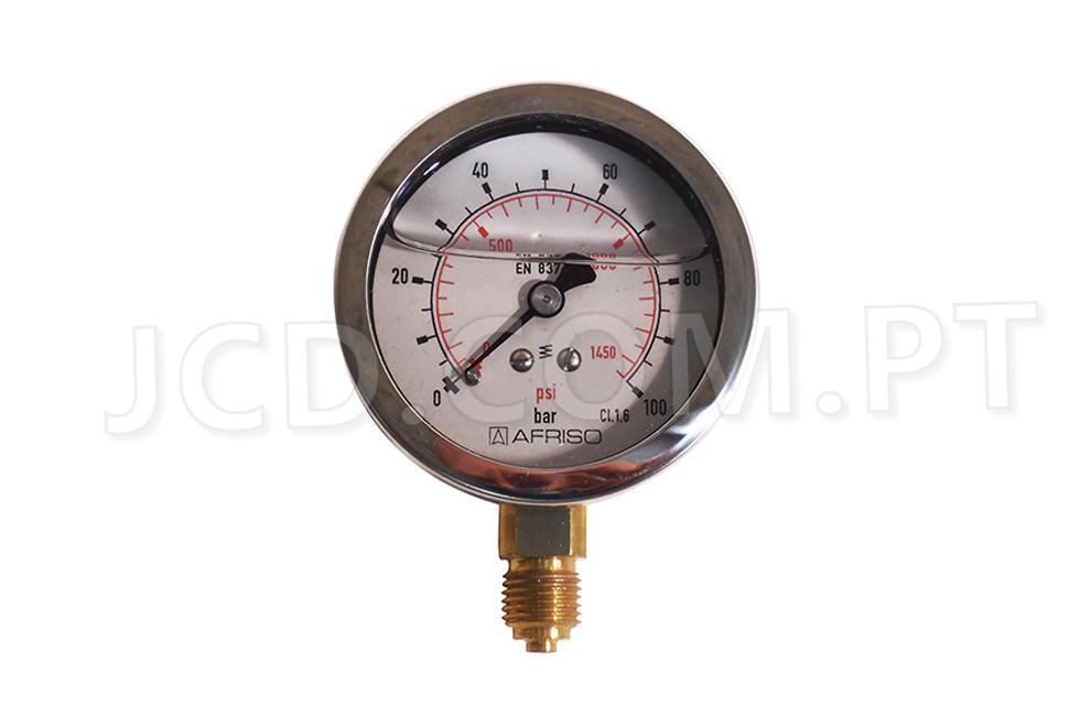 Manómetros, Manómetro Radial, Maquinas de Projetar, PFT, Acessórios, Manómetros de pressão, Manómetros de Agua