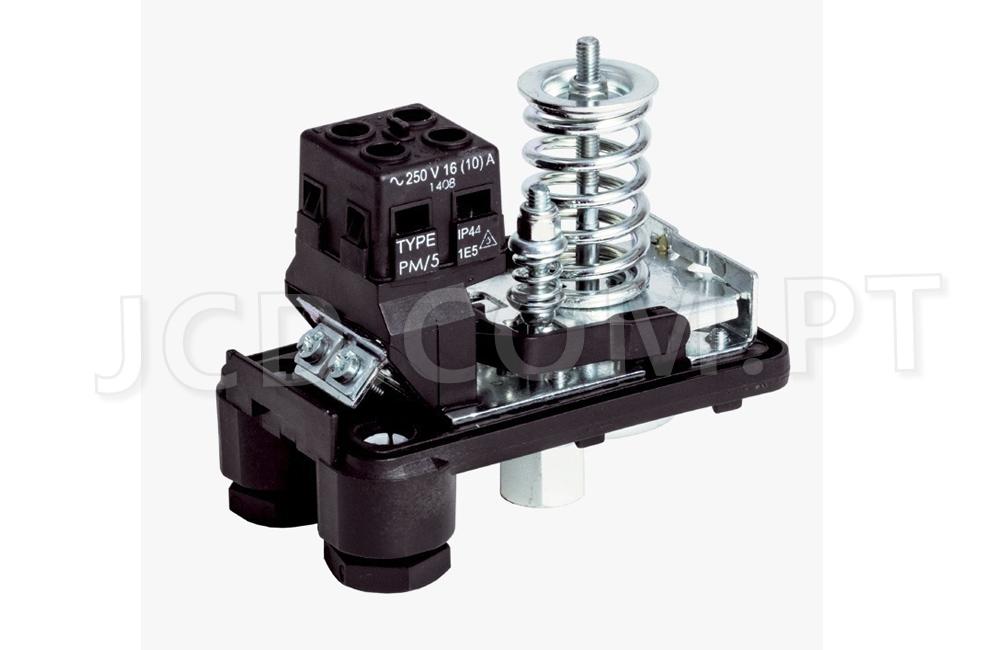 Pressostatos, Pressostato de pressão, Peças, Acessórios, Maquinas de projetar, Type PM/5, Tipo PM/5, Sistema de Aguas, Pressostato de compressor, Peças novas, peças de origem, pressão de Agua ou Ar
